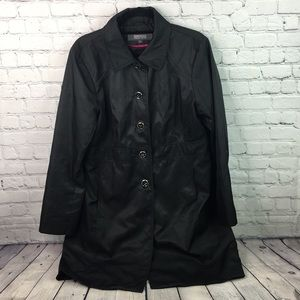 Kenneth Cole reaction trench coat size extra large